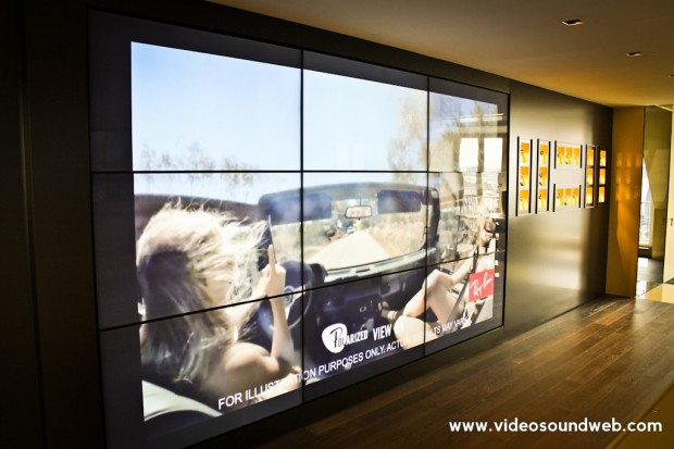 Luxottica_Paris_Videowall